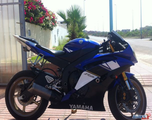 yamaha r6 annonces motos au maroc. Black Bedroom Furniture Sets. Home Design Ideas